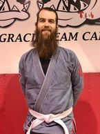 Nick Rondhuis.  Brazilian Jiu-Jitsu instructor at Zen Mixed Martial Arts in Ottawa.
