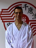 Stephen Baranyi.  Karate instructor at Zen Mixed Martial Arts in Ottawa.
