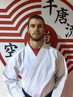 Kyle Gibson.  Karate instructor at Zen Mixed Martial Arts in Ottawa.