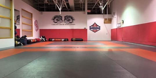 Carlson Gracie Brazilian Jiu-Jitsu Training Area.