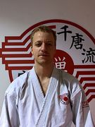 Kyle Seabrooke.  Karate instructor at Zen Mixed Martial Arts in Ottawa.