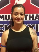 Diana Batori.  Muay Thai instructor at Zen Mixed Martial Arts in Ottawa.