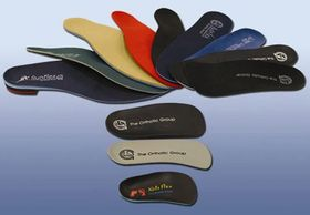 A selection of custom made orthotics