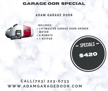 Fairfax Garage door repair