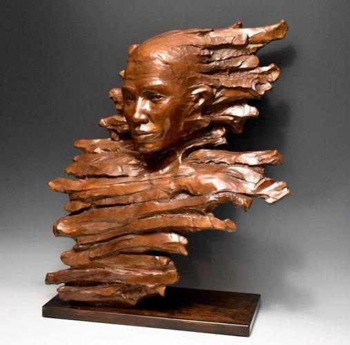 Impulse, bronze grandeur nature disponible