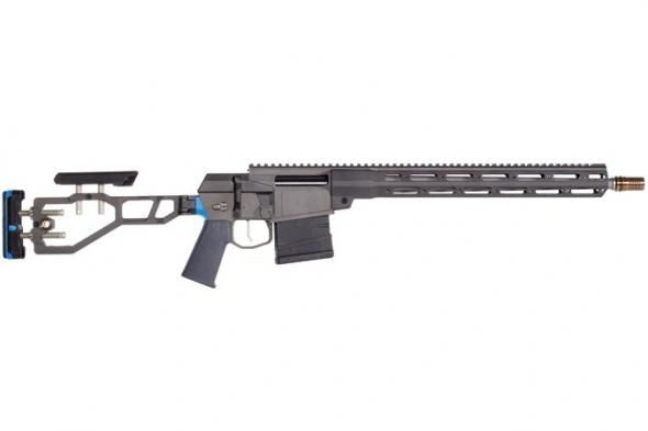 "Q The Fix, Bolt Action, 308 Win, 16"", Black Finish, Folding and Adjustable Stock, Right Hand, 4Rd Ma"