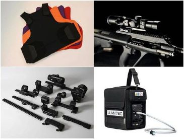 Large range of equipment for Government and Security Teams - Global shipping & Support