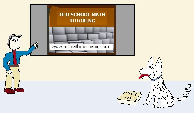 old school math tutoring emblem for mrmathmechanic.com