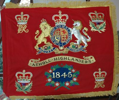 printed and hand embroidered standards, guidons, flags, buntings, pennants