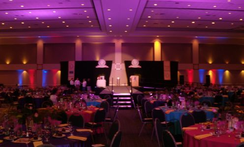 Lighting and sound for Central Texas Nurses College Fashion Show by Interactive Entertainment System