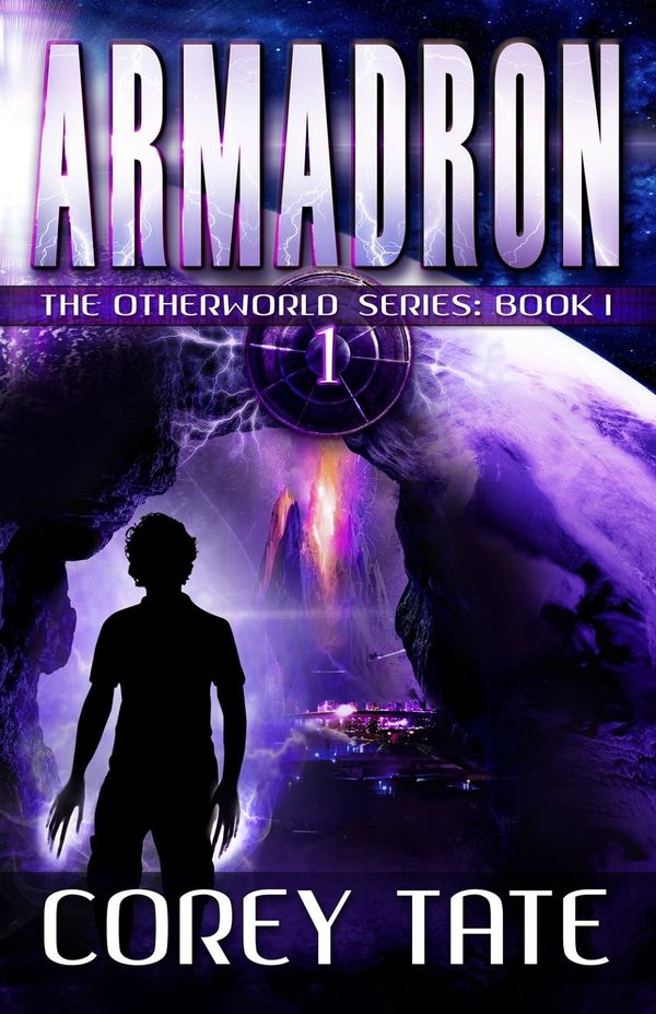 book, armadron, otherworld, series, books, YA, young adult, superhero, science fiction, science