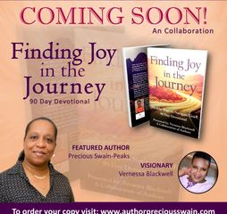 Joy In The Journey, Overcoming grief