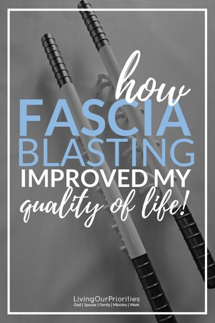 How the  FasciaBlaster Improved My Quality Of Life!