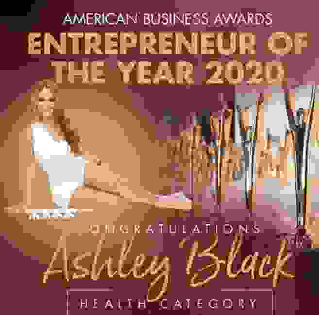 FasciaBlaster Inventor Ashley Black Named Entrepreneur of the Year in 2020 American Business Awards®
