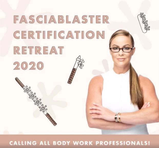 FasciaBlaster Certification Retreat 2020 offered by Ashley Black in Costa Rica.