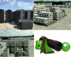 Septic products for a drain field