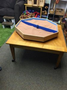 photo of Kid Power Counseling sand tray