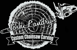 Josh Landry's Custom Chainsaw Carving