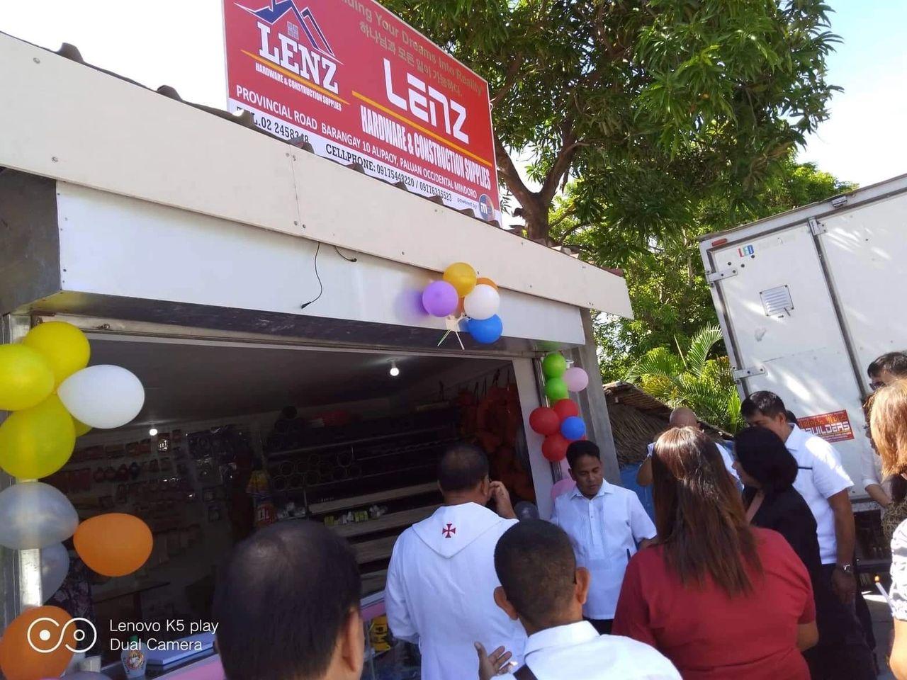 Congrats Lenz hardware grand opening Occidental Mindoro