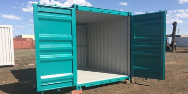 custom painted all star shipping container conex