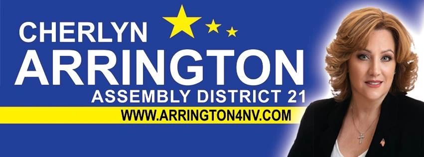 Cherlyn Arrington Nevada State Assembly District 21, AD21, Republican,