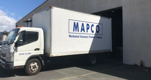 MAPCO Delivery Truck