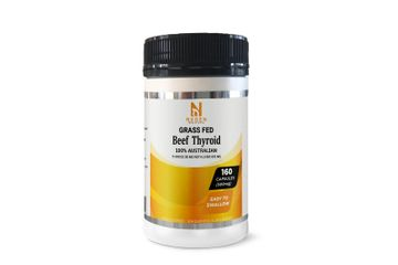 NXGEN GRASS FED BEEF THYROID CAPSULES 500MG