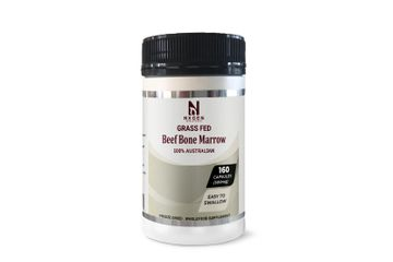 NXGEN GRASS FED BEEF BONE MARROW CAPSULES 500MG
