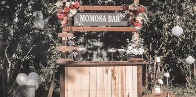"Rent A ""Momosa"" Bar For Your Next Bridal or Baby Shower - Fees Include Delivery, Setup and Tear Down"