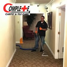 Meet Albert! He's the owner and operator  of Complete Carpet and Tile Care, he is on every job!