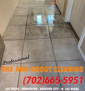 Dirty Grout Lines? We can help! Professional Tile and Grout Cleaning in Las Vegas, Henderson and Boulder City.