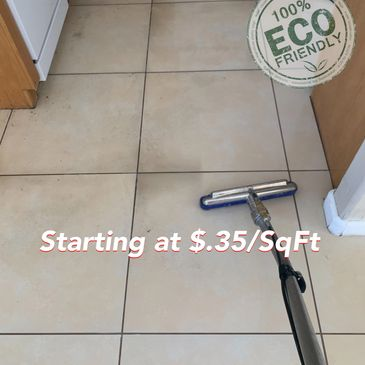 Professional Tile and Grout Cleaning in Las Vegas, Henderson and Boulder City! Tile Cleaning starts at $.35/Sqft. Call today for more information!