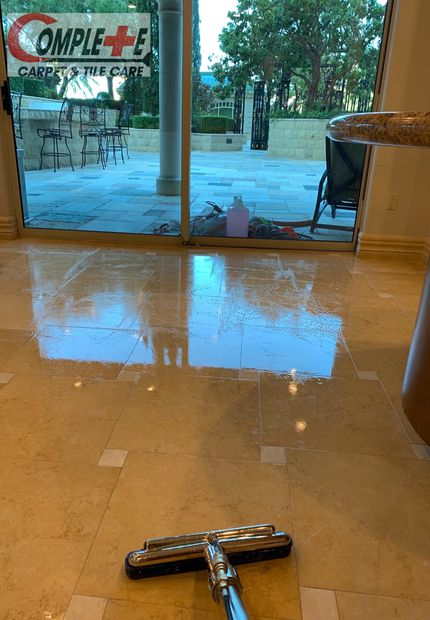 Professional Stone Care in Las Vegas' Queensridge Towers! Stone Cleaning and Polishing. Call today (702)665-5951
