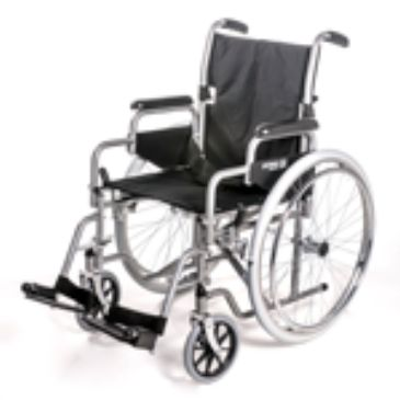 Self-Propelling Wheelchair with Detachable Arms Model No. 1000
