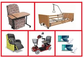 A comprehensive range of products in stock and accessible to us if we need to order it in.