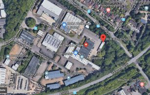 BLR Distribution is located in Berzerk car park