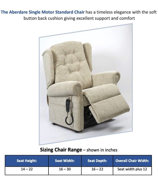 The Aberdare Rise & Recliner chair