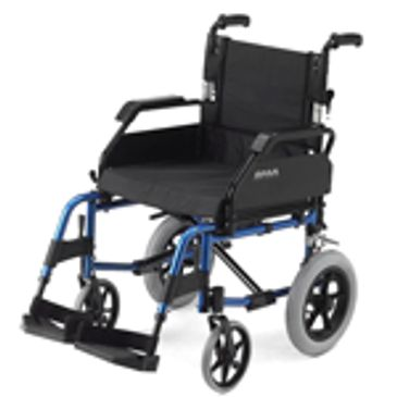 Lightweight Car Transit Wheelchair Model No. 1530BL/1530R