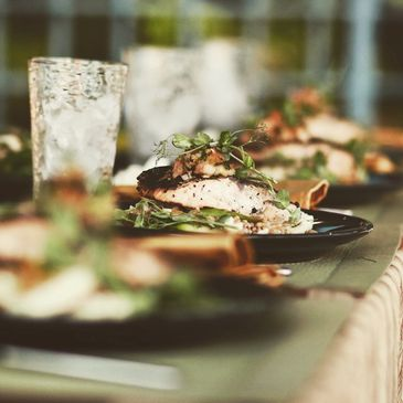 Full Service Hawaii Catering by Zach's Event Catering Including Buffet, Plated, Sit Down, Platters.
