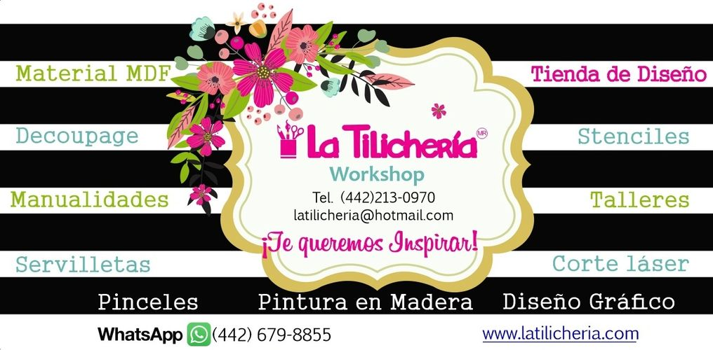 La Tilichería Workshop es una marca registrada