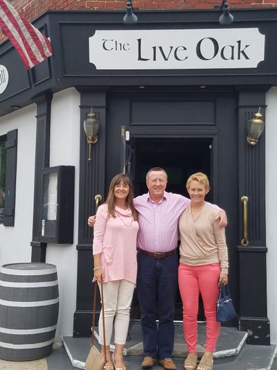 Ciaran and Marian  pictured with Treasa in Queens, New York City - USA
