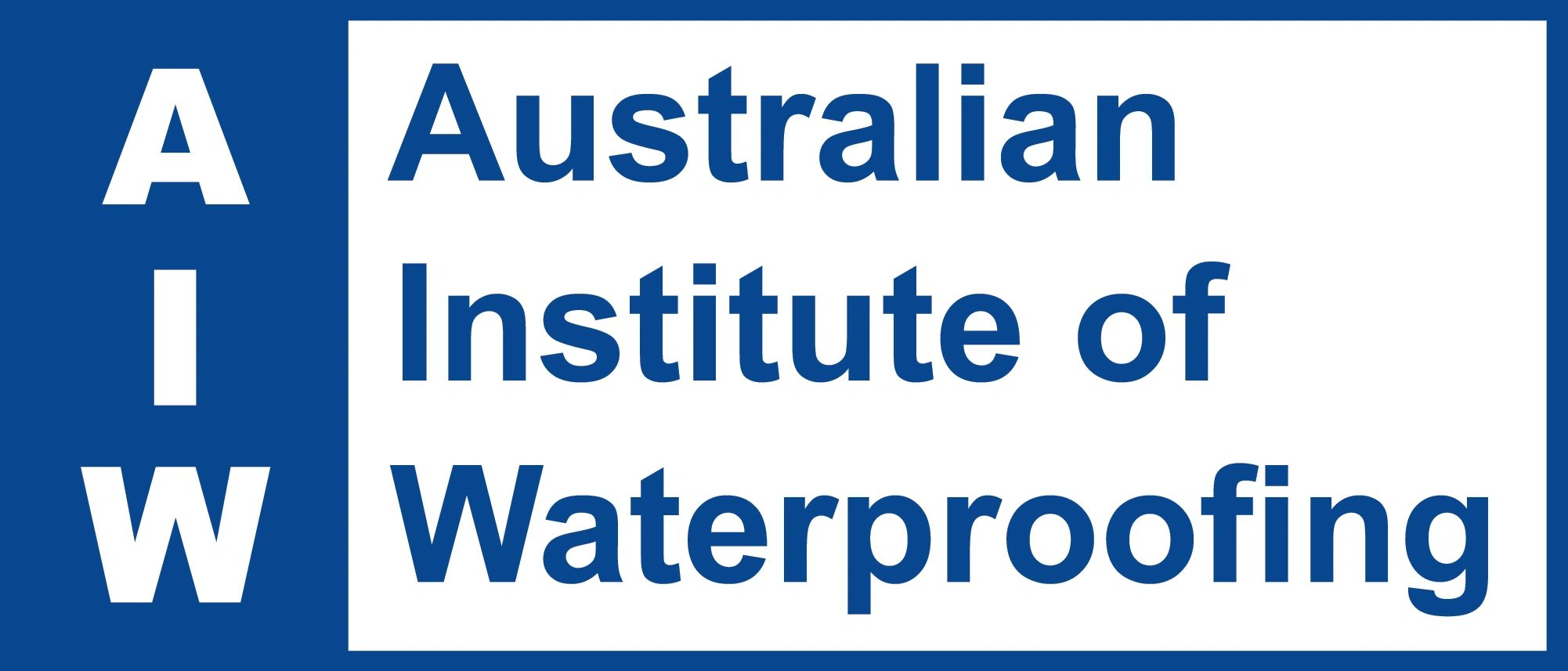 Australian Institute of Waterproofing www.waterpoof.org.au
