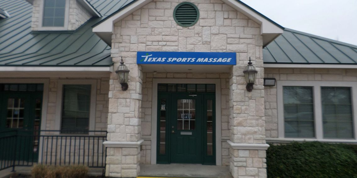 Texas Sports Massage and Day Spa Plano Texas Entrance