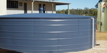 Idea water tank for rural household use