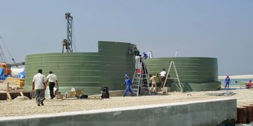Our water tank design is sucessfully used in over 18 Countrys.
