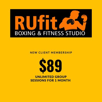 Fitness and gym 1 month membership