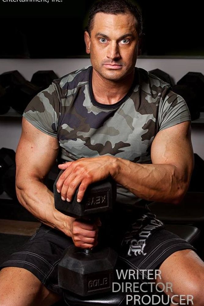 Writer, Director, Producer, Bodybuilder James Hergott Professional Picture.
