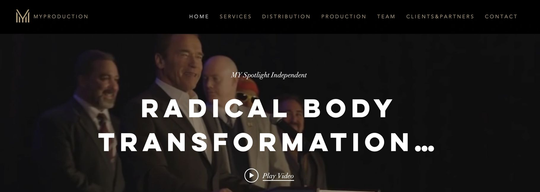Radical Body Transformation to be on Amazon Prime US & UK