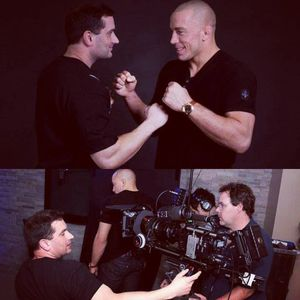 It was a privilege to film UFC Champion Georges St-Pierre at the height of his career.