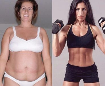 "Amazing 100 pound weight loss ""Radical Body Transformation"""